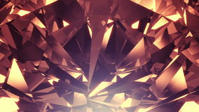 Luxury diamond background stock footage
