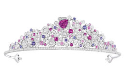 Luxury diamond tiara Stock Image