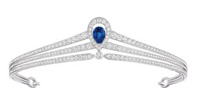 Luxury diamond tiara Stock Images