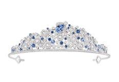 Luxury diamond tiara Stock Image