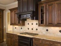 Luxury Diamond tile Kitchen Burners Stock Photography