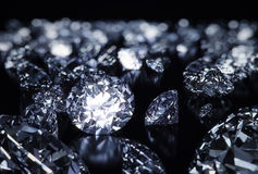 Luxury diamonds Stock Images