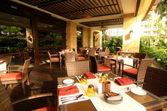 Luxury Dining Restaurant. Image of luxury hotel dining restaurant stock image