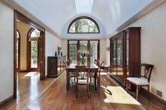 Luxury dining room Stock Image