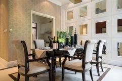 Luxury dining room Royalty Free Stock Photos
