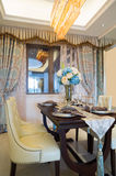 Luxury dining room Royalty Free Stock Image