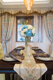 Luxury dining room Stock Images