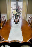 Luxury dining room table Royalty Free Stock Photos