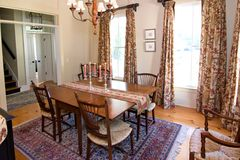 Luxury diningroom Royalty Free Stock Images