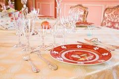 Luxury dinning room Stock Photo