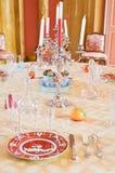 Luxury dinning room Royalty Free Stock Image