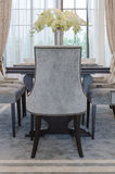 Luxury dinning room with classic chairs style Royalty Free Stock Photography