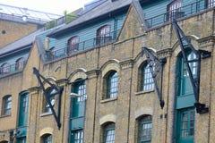 Luxury docklands flat conversion. London Stock Photo