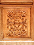 Luxury door. Luxury wood door stock image
