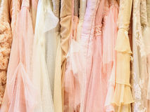 Luxury dresses Royalty Free Stock Photography
