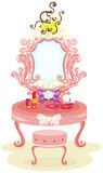 Luxury dressing table Stock Image