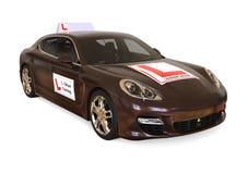 Luxury Driving school concept Stock Photo