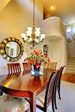 Luxury elegant classic dining room Stock Photo