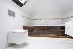 Luxury elegant washroom interior Royalty Free Stock Photos