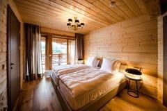 Luxury empty bedroom royalty free stock image