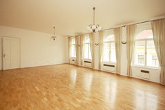 Luxury empty  room Stock Photo