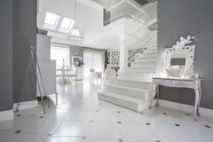 Luxury entrance hall Stock Image