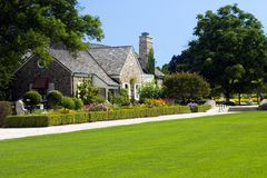 Luxury Estate. A luxury home for the wealthy .. a dream for the rest of us Royalty Free Stock Photography