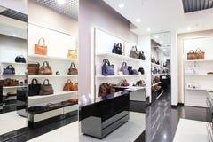Luxury european bag store Royalty Free Stock Photo