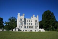 Luxury European Castle hotel Stock Photo