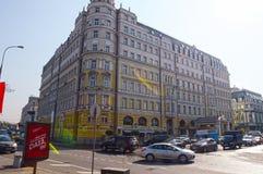 Luxury European hotel Baltschug Kempinski Russia Royalty Free Stock Image