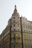 Luxury European hotel Baltschug Kempinski Sunlight Royalty Free Stock Image