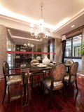Luxury expensive dining room Royalty Free Stock Photo
