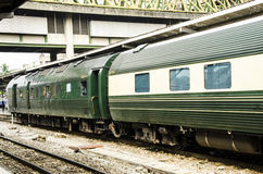 Luxury express train Royalty Free Stock Photography
