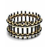 Luxury extraordinary bracelet Stock Image