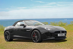 Luxury f type jaguar Royalty Free Stock Images