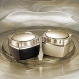 Luxury facial creams Royalty Free Stock Image