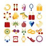 Luxury fashion icons Royalty Free Stock Photos