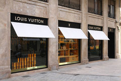 Luxury fashion - Louis Vuitton Stock Photo