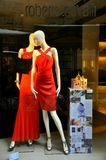 Luxury fashion store in Italy Stock Photo