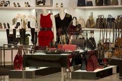 Luxury fashion store Stock Images