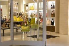 Luxury handbag fashion store Stock Image