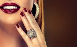 Luxury fashion style stock images