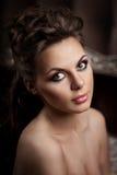 Luxury fashion woman Royalty Free Stock Photos