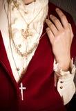 Luxury female collar Stock Photography