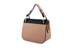 Luxury female leather bag Royalty Free Stock Photography