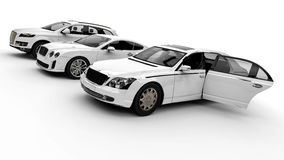 Luxury Fleet Royalty Free Stock Photo