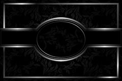Luxury floral background Stock Image