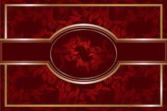 Luxury floral background vector illustration