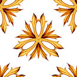 Luxury floral background. Ornamental seamless Royalty Free Stock Photography
