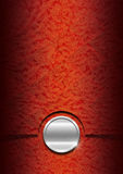 Luxury Floral Orange and Red Background Stock Photos